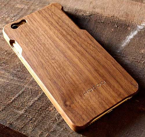 Hacoa iPhone 6 Plus Wooden Case