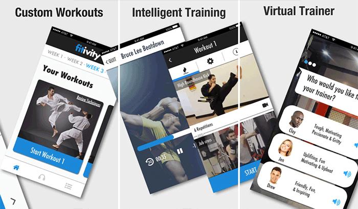 Hand to Hand Combat Training iPhone App Screenshot