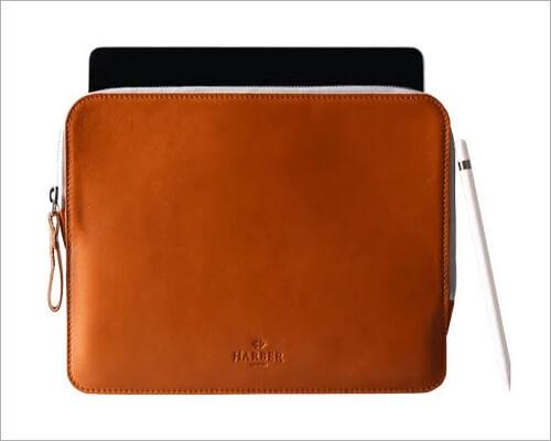 Harber London 10.2 inch iPad Slim Leather Case