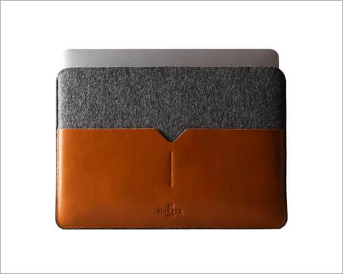 Harber London Classic Leather MacBook Sleeve
