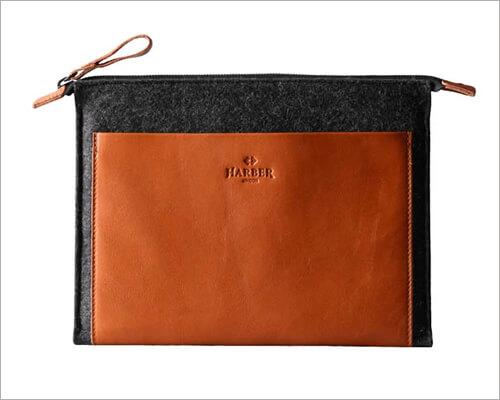 Harber London Folio Macbook Leather Sleeve