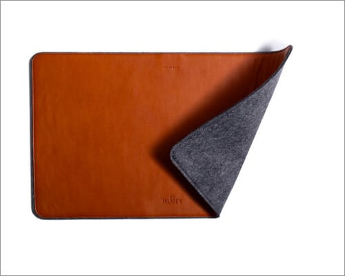 Harber London Leather Desk Mat