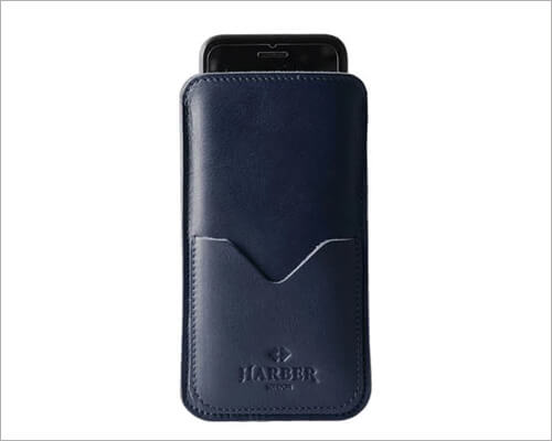 Harber London Slim Executive Wallet Case for iPhone 11 Pro