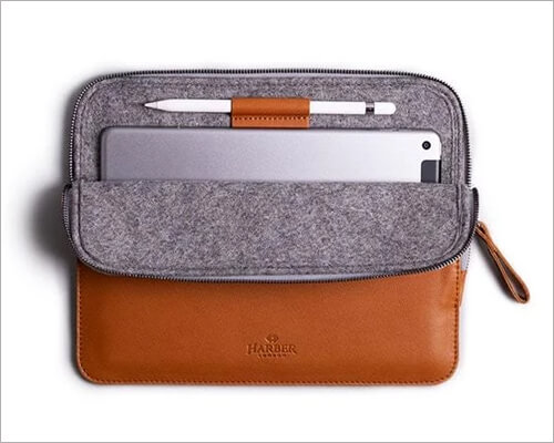 Harber London Slim IPad No 7 Stand Sleeve