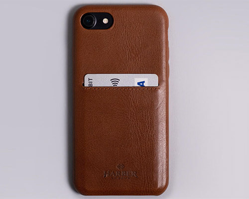 Harber London iPhone 6-6s Leather Case