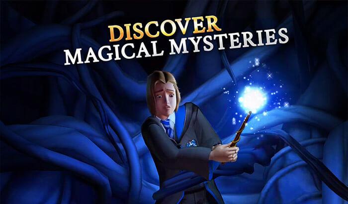Harry Potter iPhone and iPad Adventure Game Screenshot