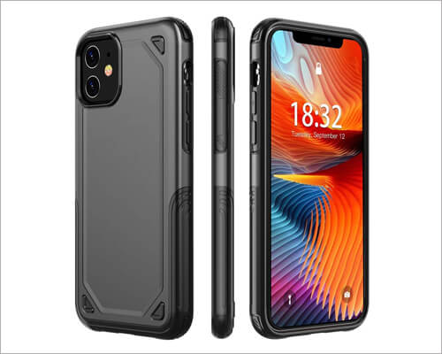 Haukay Dual Layer Cheap Case for iPhone 11
