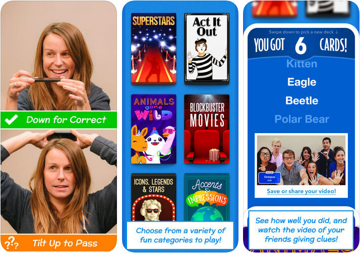 Heads Up Paid iPhone Game Screenshot