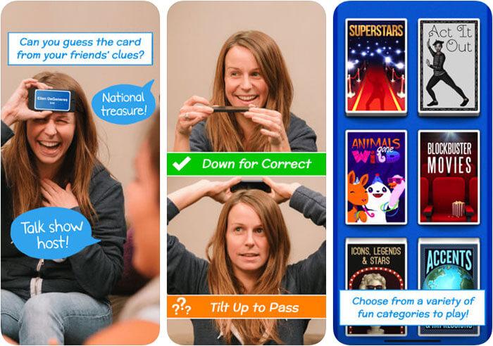 Heads Up iPhone and iPad Game Screenshot
