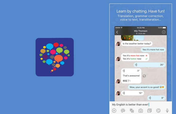 HelloTalk Language Learning iPhone App