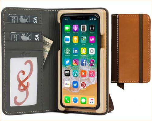 Heritage Pocket Book iPhone X Case