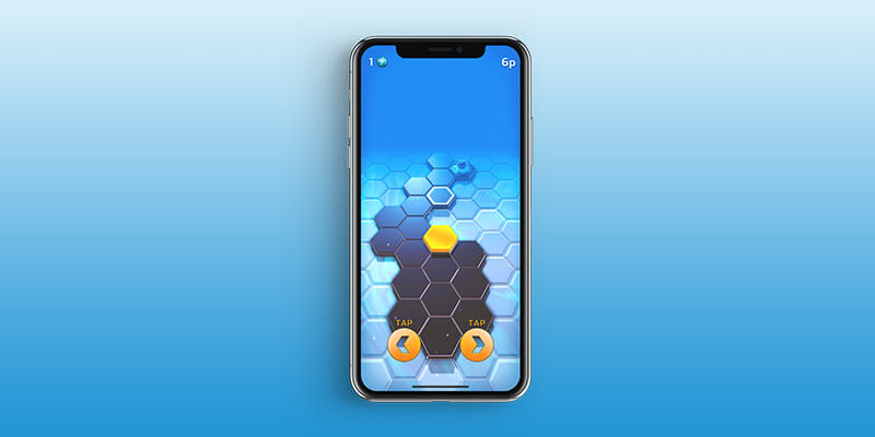 Hexaflip Apple Arcade Action Game for iPhone, iPad, and Apple TV