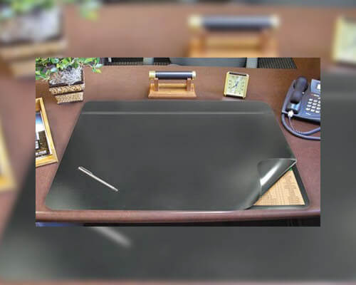 Hide-Away PVC Desk Pad and Mat