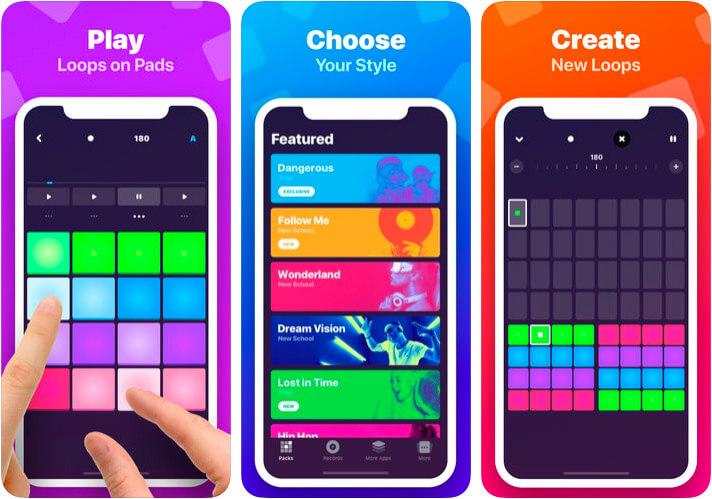 Hip-Hop Beat Maker iOS App Screenshot