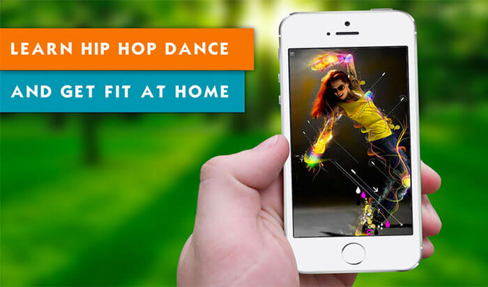 Hip Hop Dance Workout iPhone and iPad App Screenshot