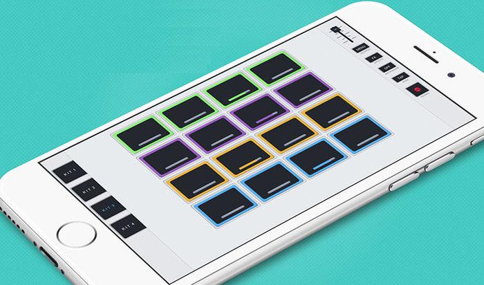 Hip-Hop Producer Pads iOS App Screenshot