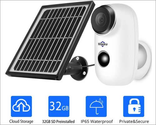 Hiseeu Smart Outdoor Security Camera
