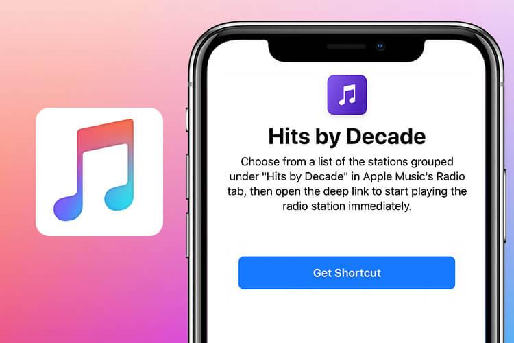Hits By Decade Siri Shortcut