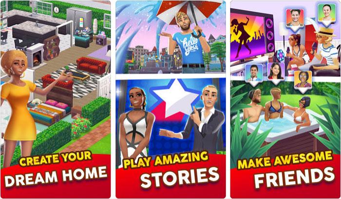 Home Street iPhone and iPad Family Game Screenshot