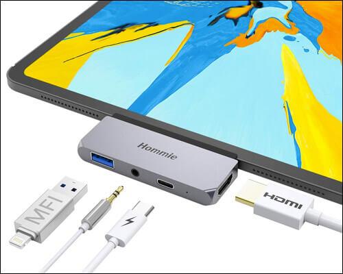 Hommie USB Type C Hub for 2018 iPad Pro