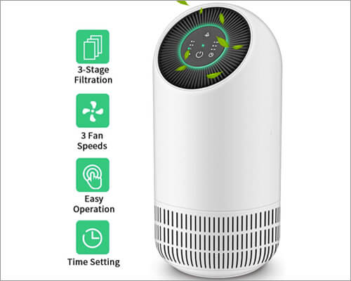 Honati HEPA Filter Air Purifier for Home