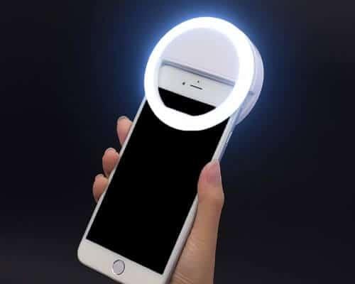 Hongdayi Selfie LED Camera Light for iPhone