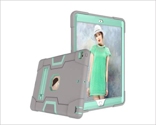 Hongxinyu iPad 10.2 inch Kickstand Case