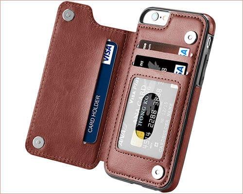 Hoofur Folio Case for iPhone 6-6s Plus