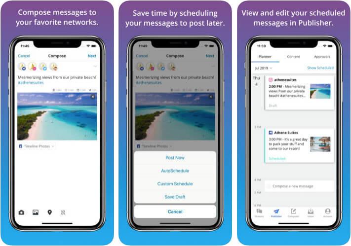 Hootsuite iPhone and iPad App Screenshot