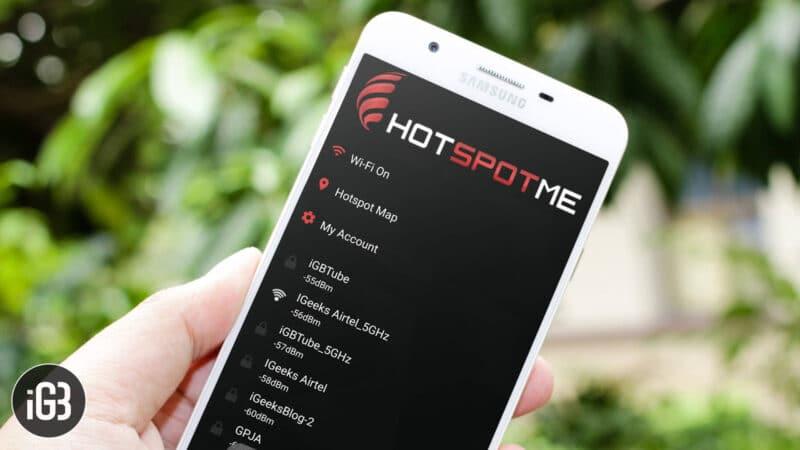 HotSpotMe Android App