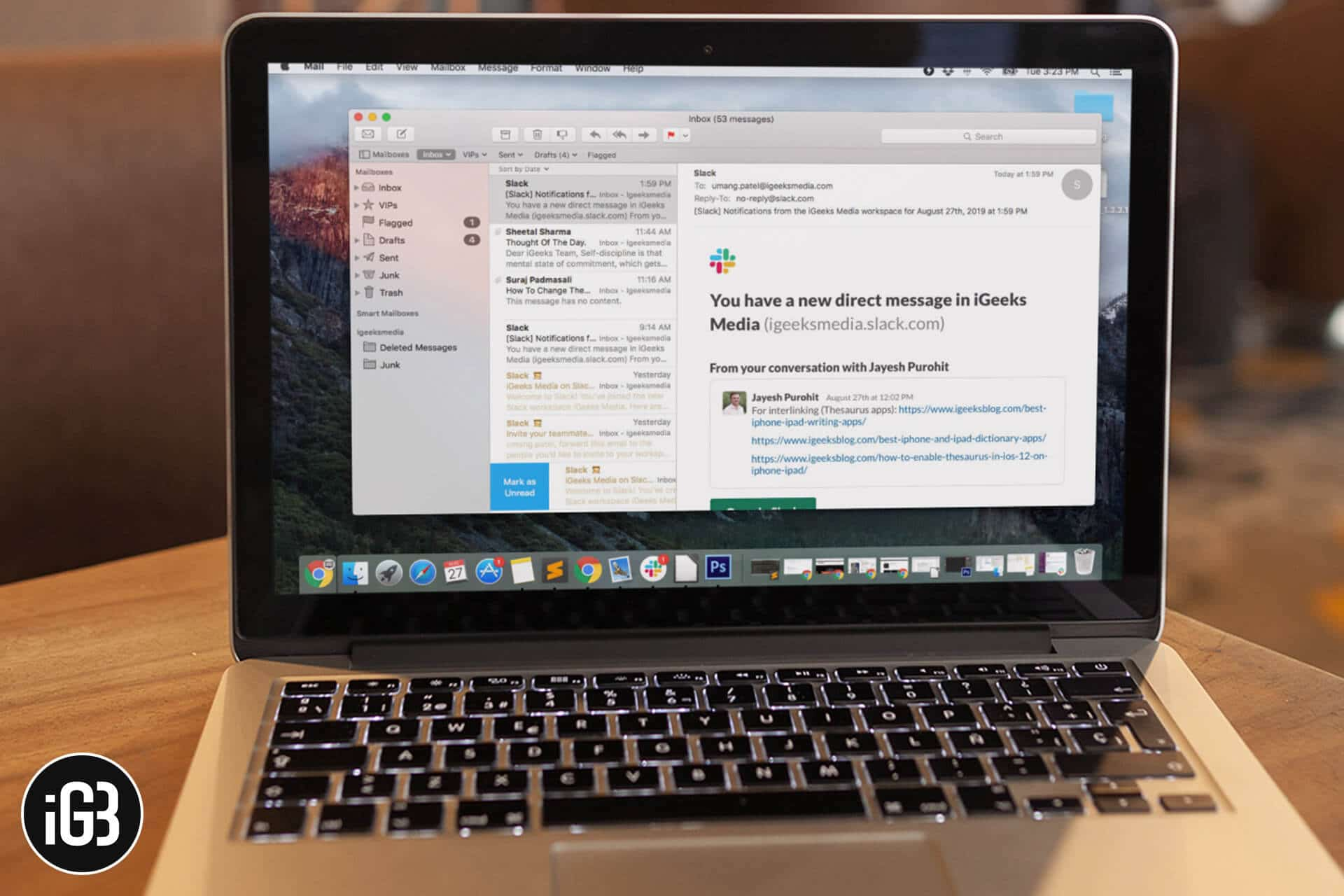How To Change Font and Color in Mac Mail App