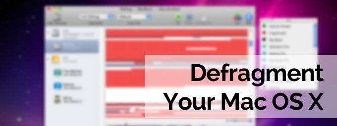 How To Defrag Mac Hard Drive