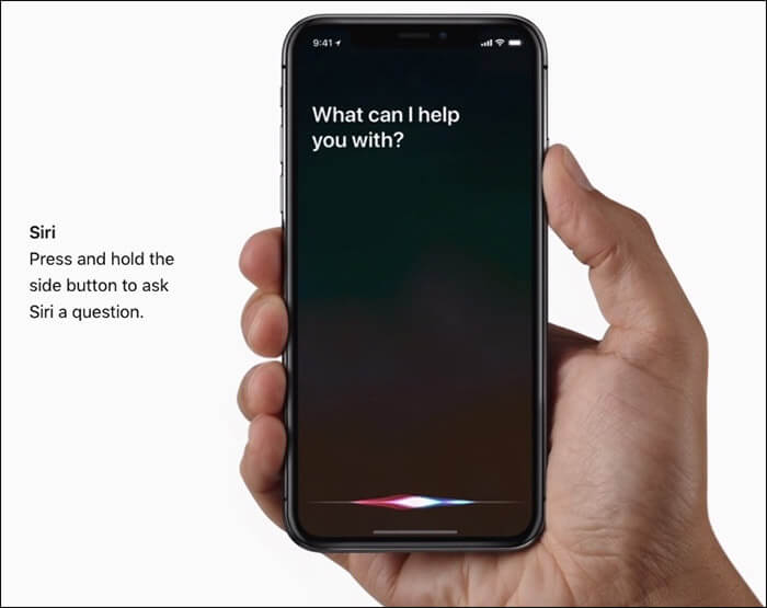How to Activate Siri on iPhone X