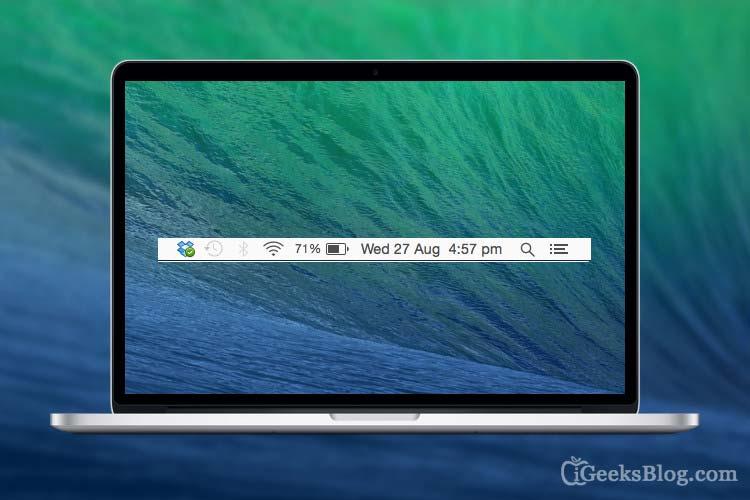 How to Add Date to Menu Bar in Mac OS X