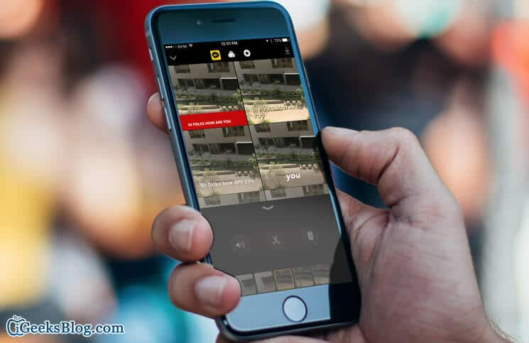 How to Add and Edit Live Titles in Clips App on iPhone