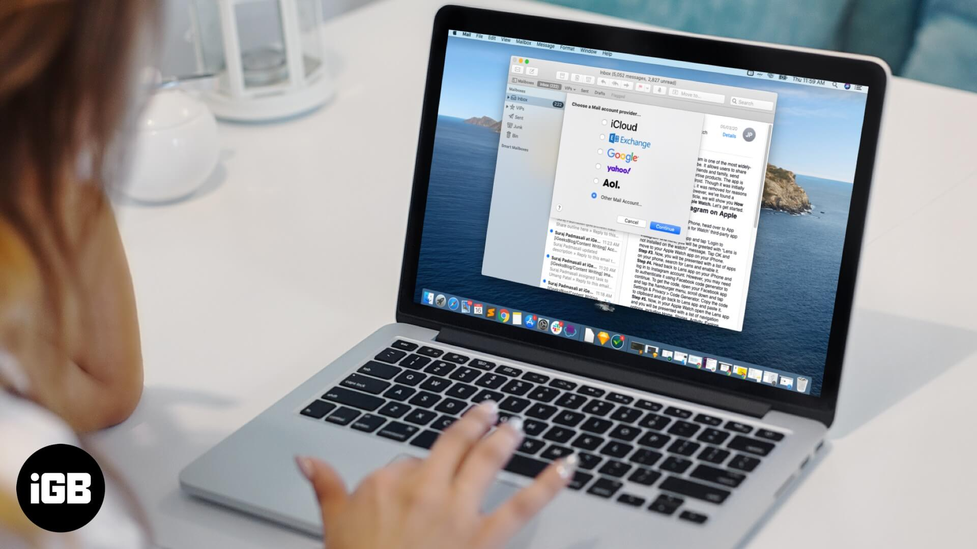 How to Add or Remove Email Account on Mac Mail App