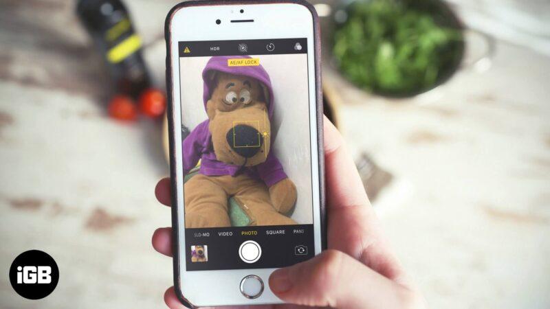 How to Adjust Exposure in iPhone Camera App