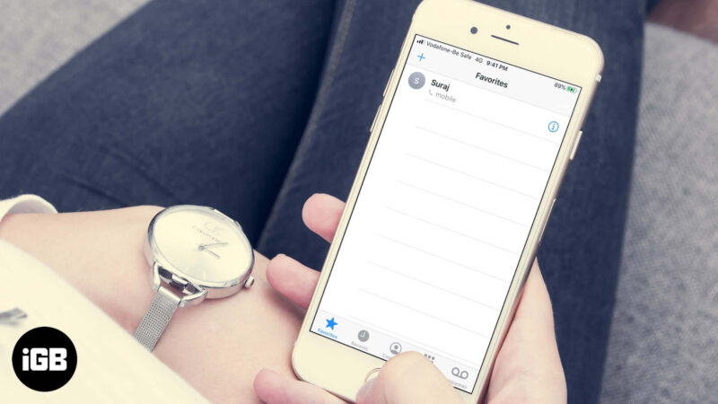 How to Allow Only Favorites Call on iPhone