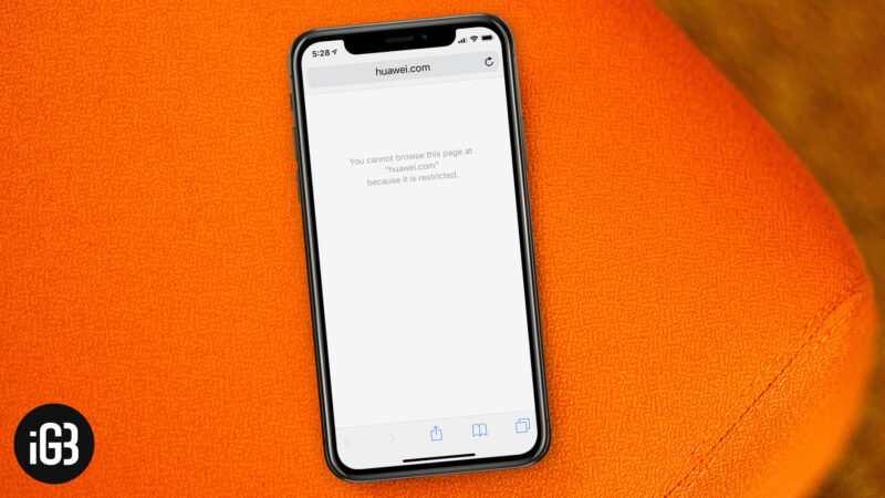 How to Block Certain Websites on iPhone and iPad