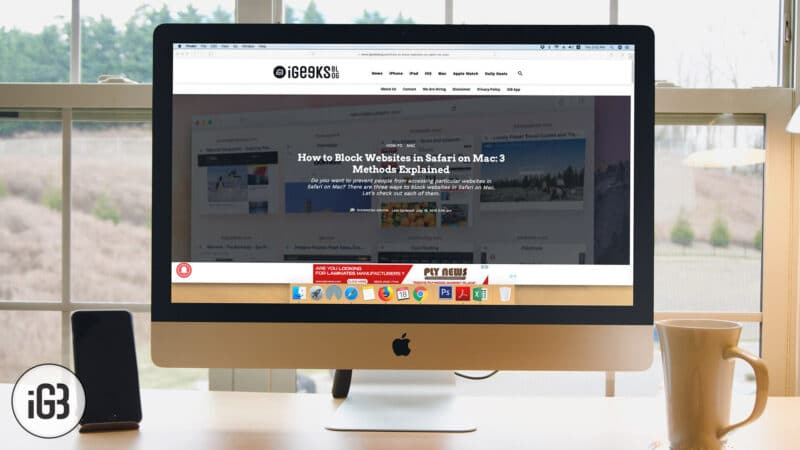 How to Block Websites in Safari on Mac