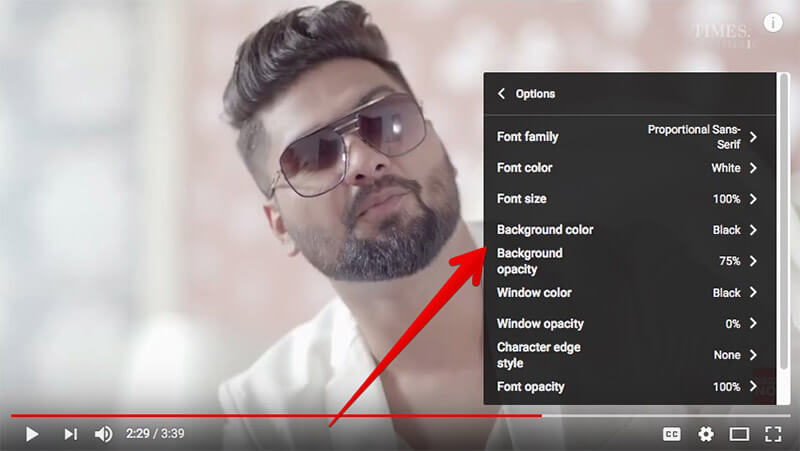 How to Change Caption Size & Style in YouTube on Computer