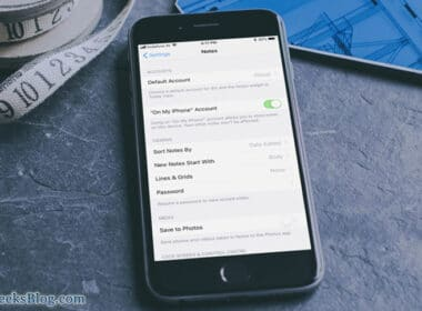 How to Change Default Notes Account Location on iPhone and iPad