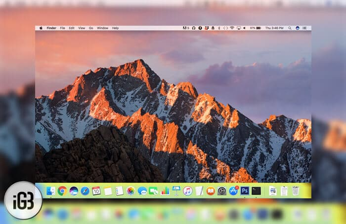 How to Change Dock Color on Mac