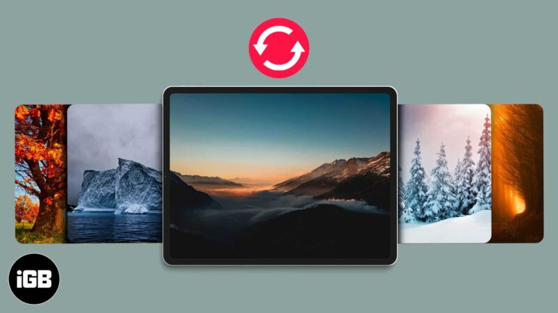 How to Change iPhone and iPad Wallpaper Automatically
