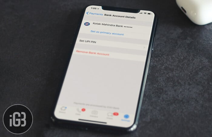 How to Change or Remove WhatsApp Payment Bank Account on iPhone or Android
