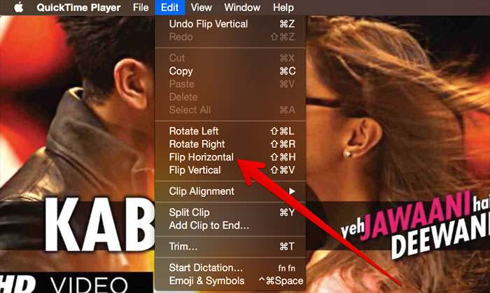How to Change vertical videos on the Mac using QuickTime