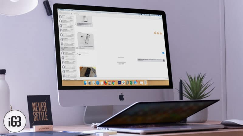 How to Clear iMessages Chat History on Mac