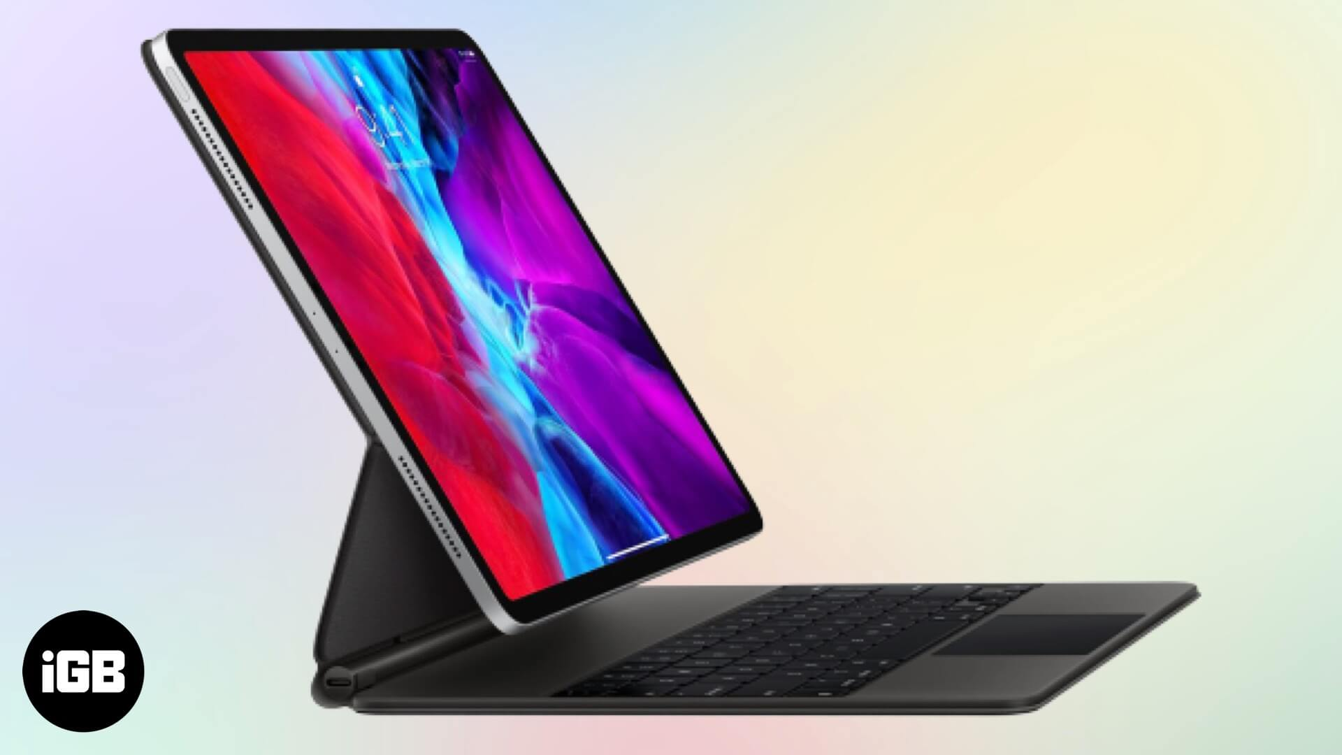 How to Connect Magic Keyboard with Trackpad to iPad