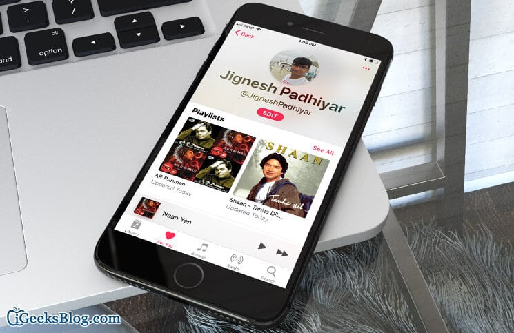 How to Create Apple Music Profile in iOS 11 on iPhone and iPad