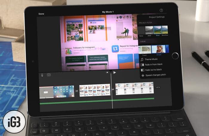 How to Create Movie using iMovie App on iPad